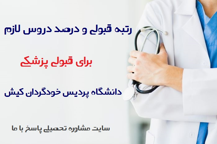 آخرین رتبه قبولی پزشکی دانشگاه بین الملل کیش