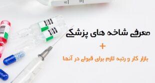 معرفی شاخه های پزشکی _ بازار کار و رتبه لازم برای قبولی